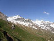 10 - innevamento alla base di Mont Pourri e Dome de la Sache
