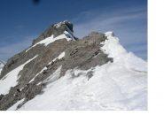 Il Pic Ouest dalla Breche(3061m)..