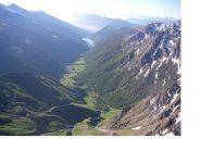 L'alta val Varaita dalla Rocca Bianca..