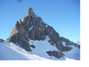 Il Roc de la Niera da nord..