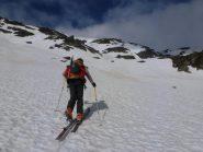 Attraversiamo verso il Col du Mont