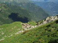 I ruderi dell'Alpe Crotta