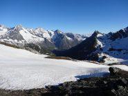 la val ferret svizzera dal colle fenetre