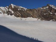 Sul ghiacciaio del Lauson