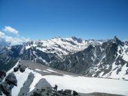 m.salza e mongioia dalla punta dell'alp
