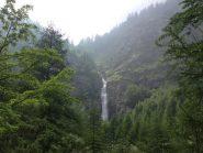 la cascata del Pis