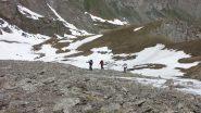 quasi arrivati sulla cresta NO della Sagnes Longues (23-6-2013)