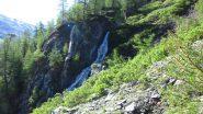 passando nei pressi della cascatella del Torrente Clausis (23-6-2013)