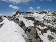 Da La Rubbia verso Punta Bordevolo e Monte Giavino