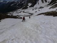 Arrivo a Montagna Baus