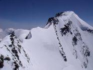 La cresta verso il Granpa