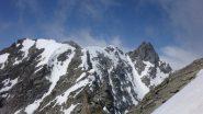 La cresta verso l'Ondezana