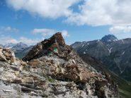 un tratto della cresta verso il colle Ventasuso