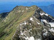 La cresta verso la Quinseina è ormai pulita