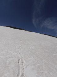 09 - discesa dalla cima ovest diretta nel vallone