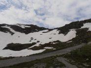 04 - fine dell'erba ed inizio dei nevai a quota 2450