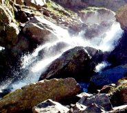 giochi d'acqua nella gorgia, la musica delle cascate