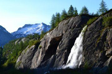 cascata in Val Vannino