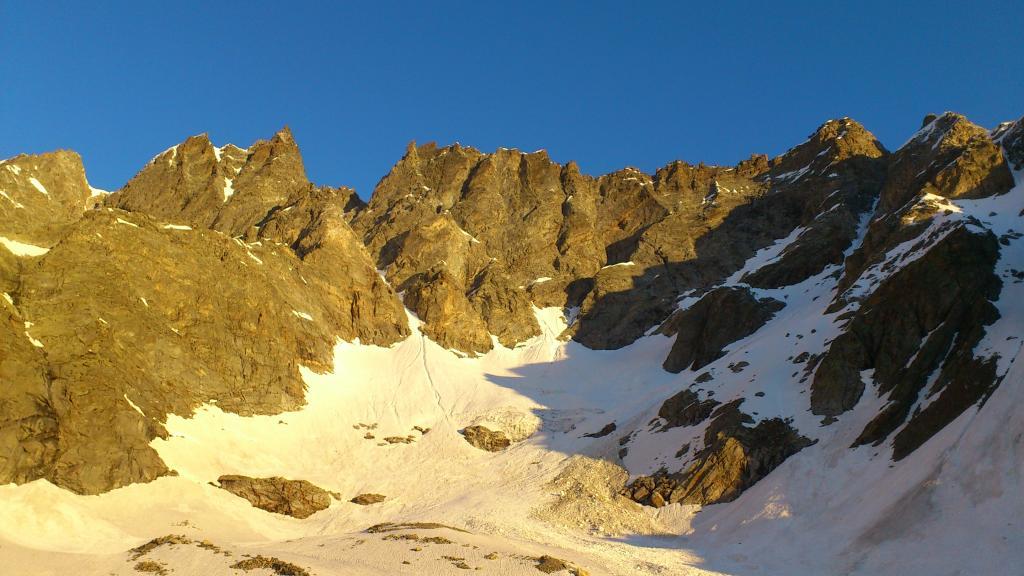Gura (Colle della) da Forno Alpi Graie, Canale est 2013-06-30