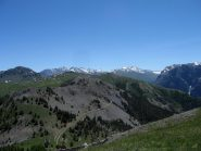 Dall' Infernet il sentiero che porta al Gondran.