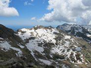 Lago Torretta, Punta della Gragliasca e sullo sfondo...il mare?!