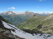 Panorama verso il Vallone del Tourrison dal Colle Marmontana