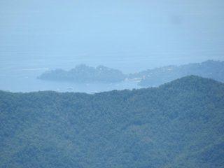 Vista verso Portofino
