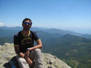 In vetta al Monte Ramaceto
