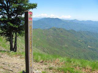 L'Alta Via lungo il percorso di ritorno