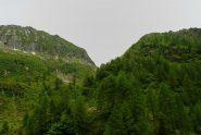 Bocchetta di Vald vista da Bondolo