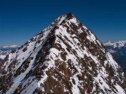Cresta di salita al Dirruhorn salendo all'Hobarghorn