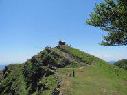 La panoramica cima sud-ovest del M. Ramaceto