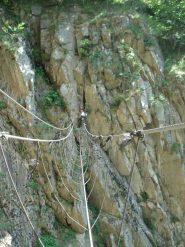 Il Traballante ponte tibetano!