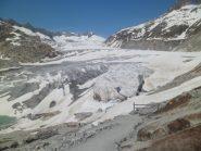 condizioni del primo pezzo di ghiacciaio