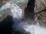 cascata dall'alto