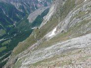 Parte finale su sentiero e cascate