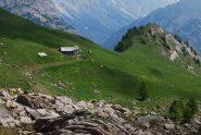 L'alpeggio, la cresta ed il Mont Brise