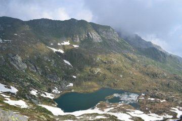 panorama sul sottostante Lago Chiletto