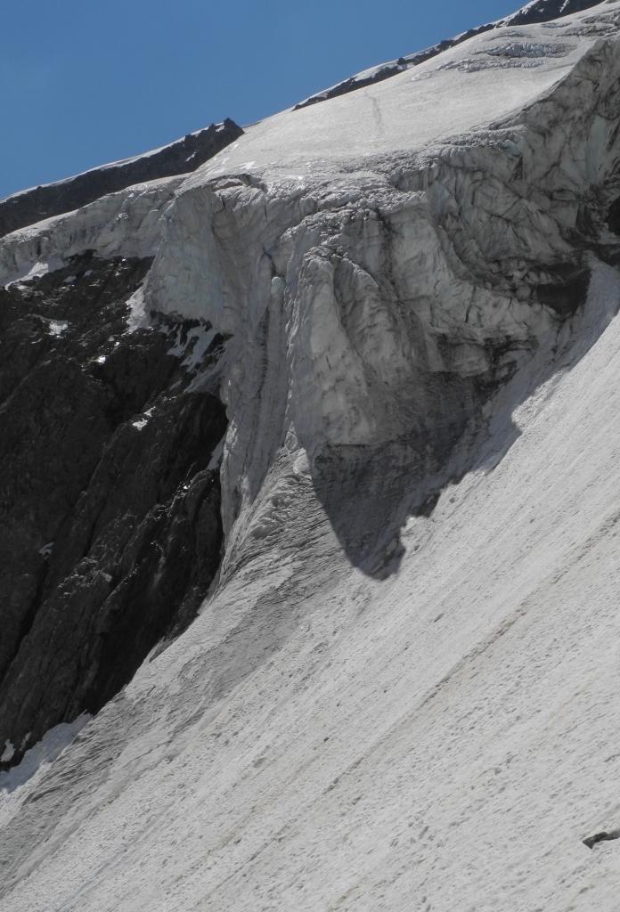 Gioberney (Mont) diretta al seracco 2013-07-07