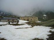 Cuney tra la neve e le nuvole