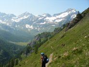 Dall'Alpe Ciamporino al Rifugio Citta' di Arona