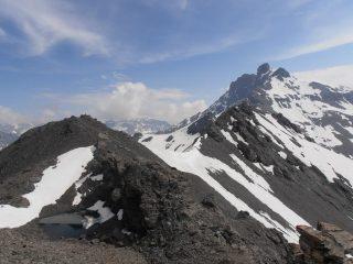 02 - cima nord, laghetto, cima est e Grand Roc Noir