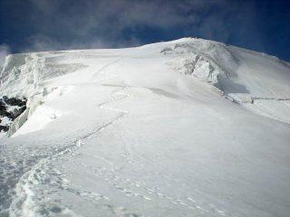 parte mediana del ghiacciaio