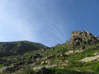 la cima dall'alpe