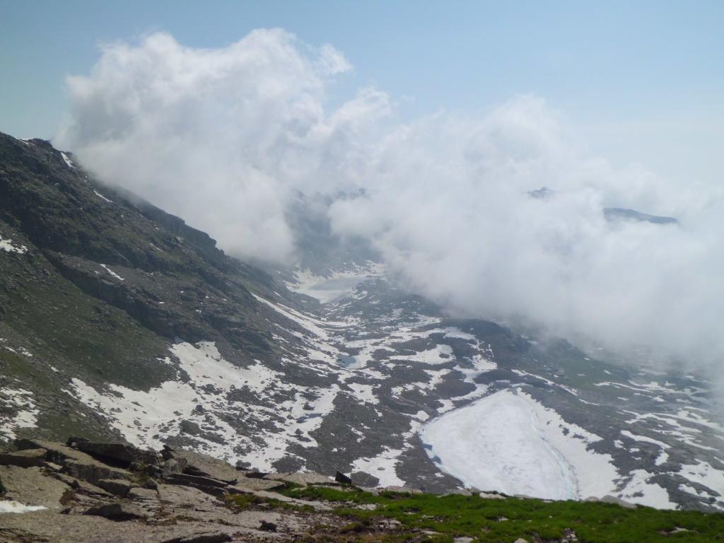 Laghi Fertà e Unghiasse ghiacciati