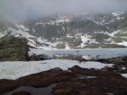 Lago Fertà e colle della Terra