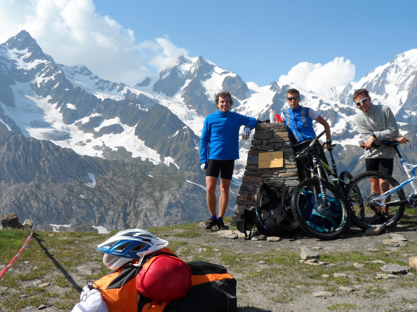Primo giorno, colle di Chavanne 2595 m