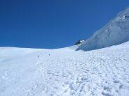 tracciona sul ghiacciaio