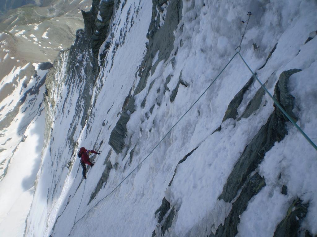 Cervino o Matterhorn Parete Nord - Via Schmid 2013-07-13