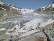 vista del ghiacciaio